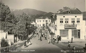 Old postcard - Berkovitsa, city view