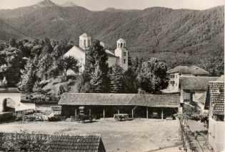 Old postcard - Berkovitsa, Klisura Monastery