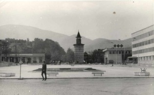 Old photo - Berkovitsa, the center